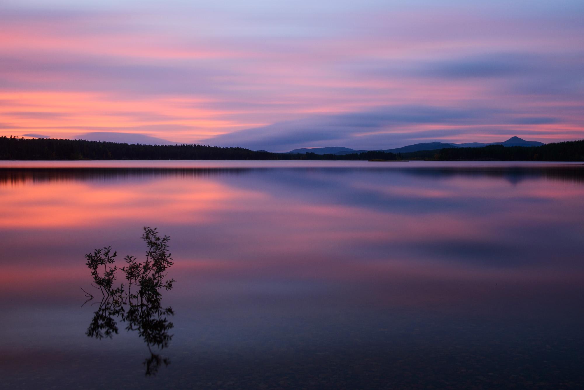 Älvrosfjorden, Österdalälven, Dalarna.