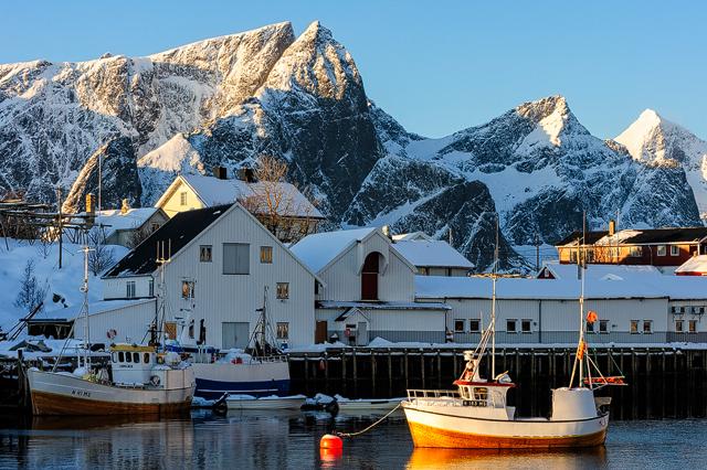 Hamnøy, Lofoten, Norge