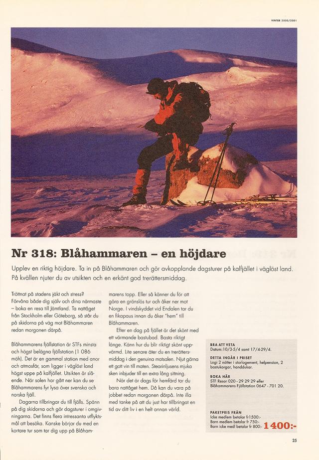 Nr 318 : Blåhammaren – en höjdare