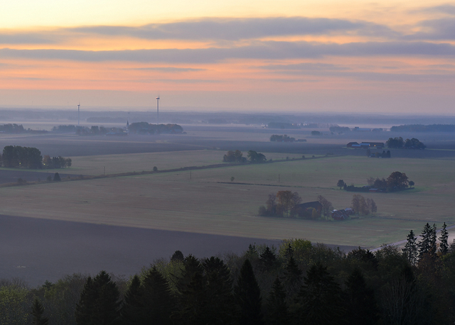 Utsikt från Hunneberg, Grästorps kommun