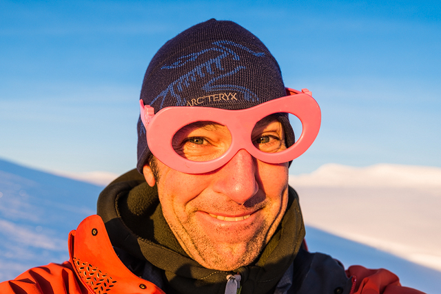 Lule älv genom rosafärgade glasögon.