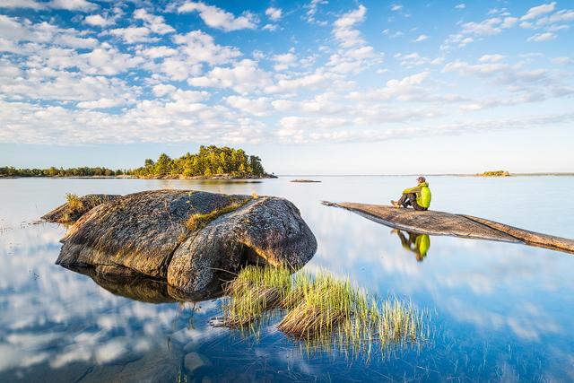 Yttre Bodane Naturreservat, Vänern