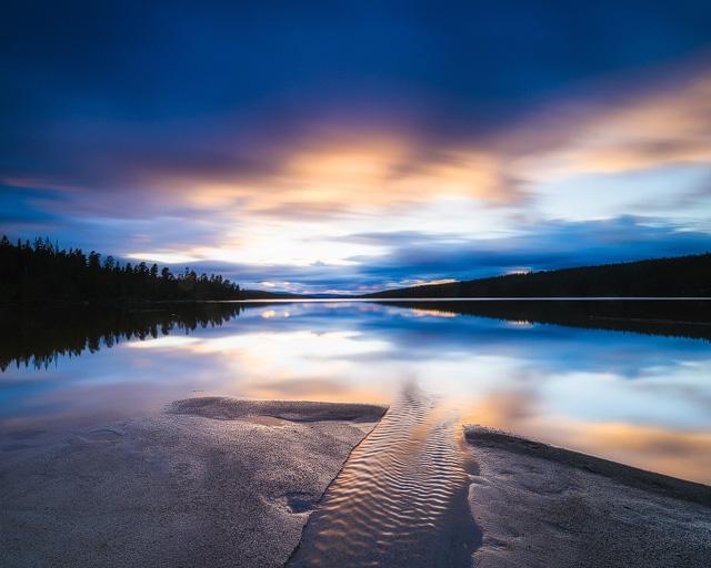 Burusjön, Dalarna