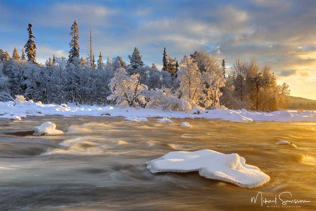 Nordens längsta vattendrag - Isterfossen, Hedmark fylke, Norge