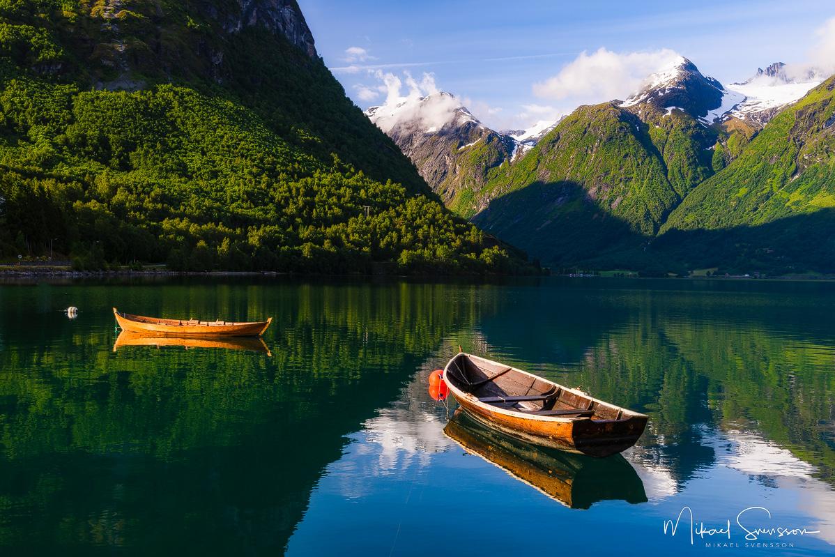 Oppstrynsvatnet, Hjelle, Norge