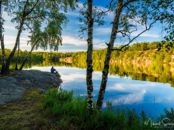 Västra Långevattnet, Delsjöområdet. Foto: Mikael Svensson, www.mikaelsvensson.com