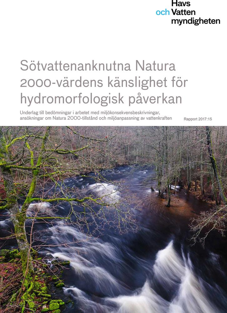Bild i rapport om skyddsvärda arter och vattendrag