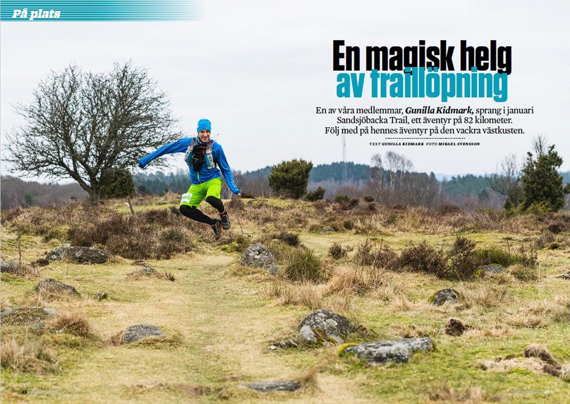 En magisk helg av traillöpning
