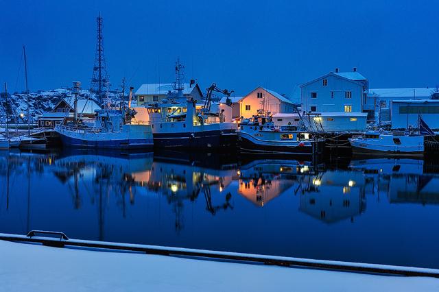 Henningsvær, Lofoten, Nordland, Norge