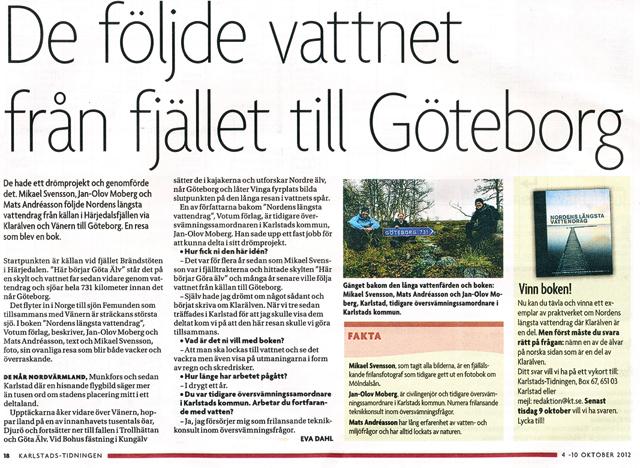 De följde vattnet från fjället till Göteborg
