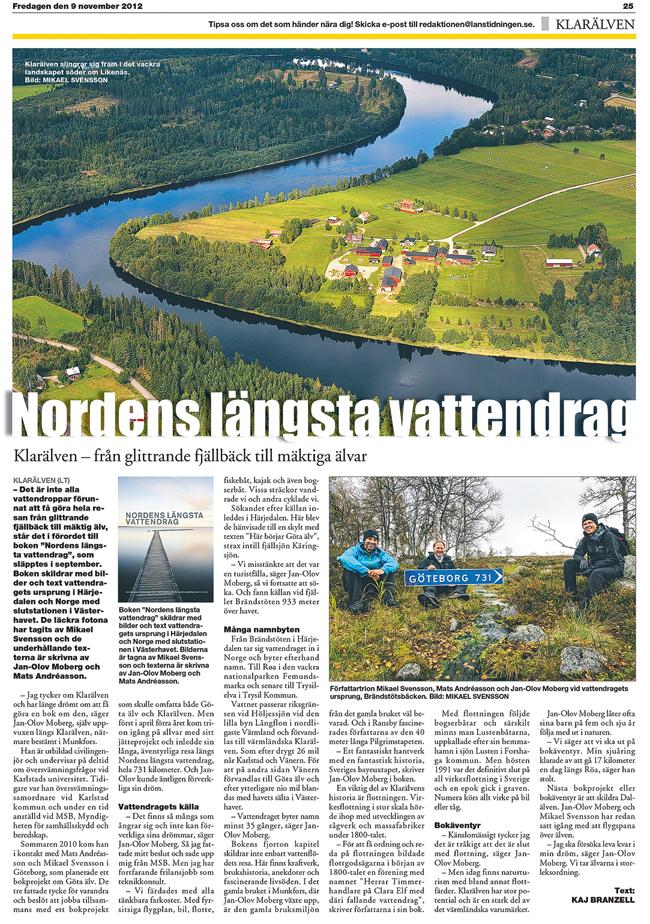 Nordens längsta vattendrag