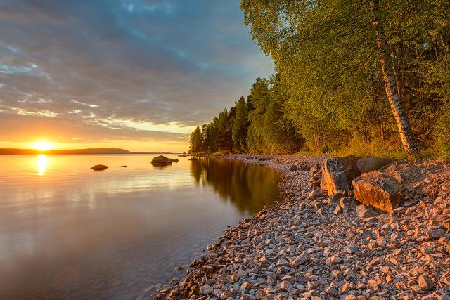 Siljan, Leksand, Dalarna