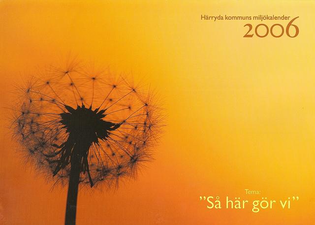 Härryda kommuns miljökalender 2006