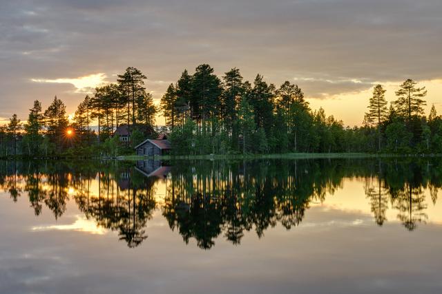 Östra Rädsjön, Grönklitt, Dalarna