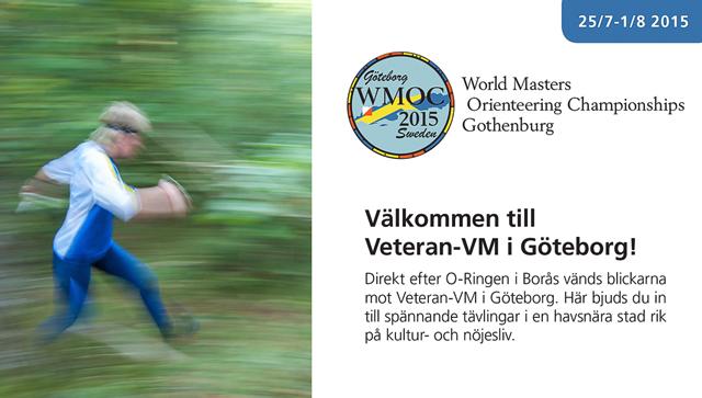 Välkommen till Veteran-VM i Göteborg!