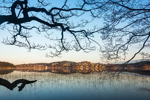 Rådasjön, Helenevik, Mölndal