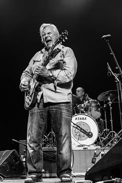 Rolf Wickström på Åmål bluesfestival 2014.