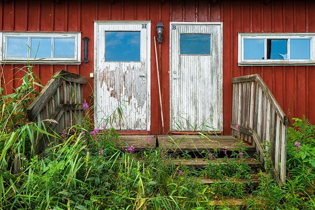 BK Wiking omklädningsrum, Sandvik