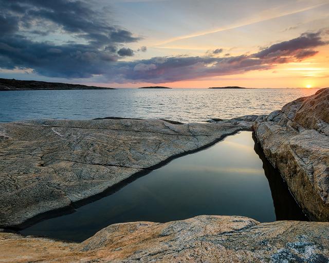 Vallda Sandö, Halland
