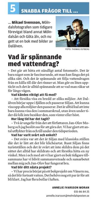 5 snabba frågor till Mikael Svensson