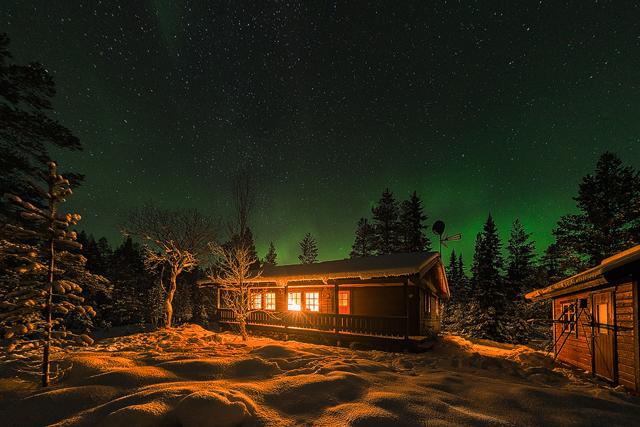 Norrsken i Lofsdalen