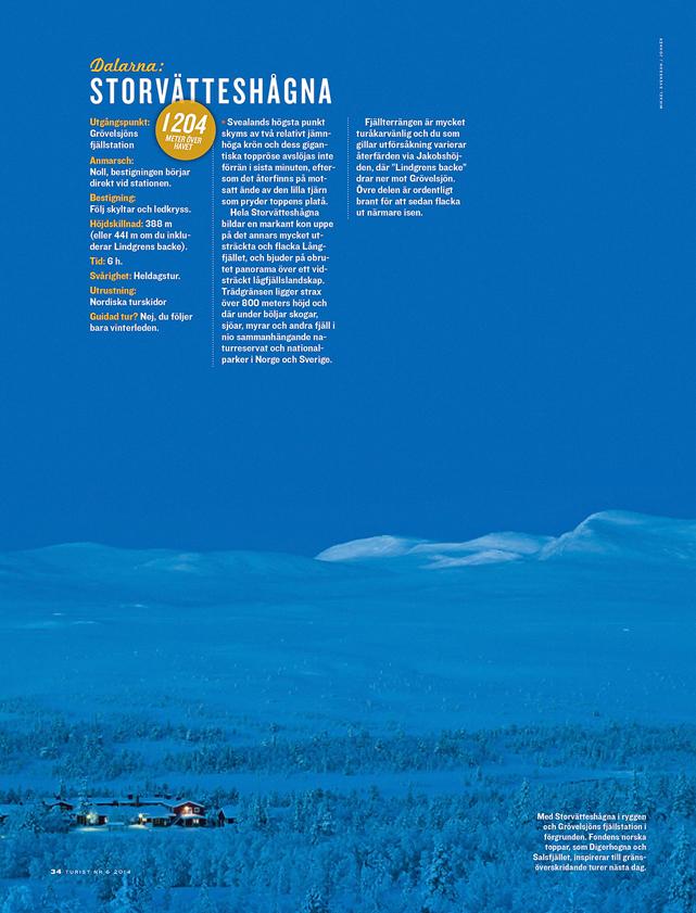 Tidningen Turist nr 6 / 2014