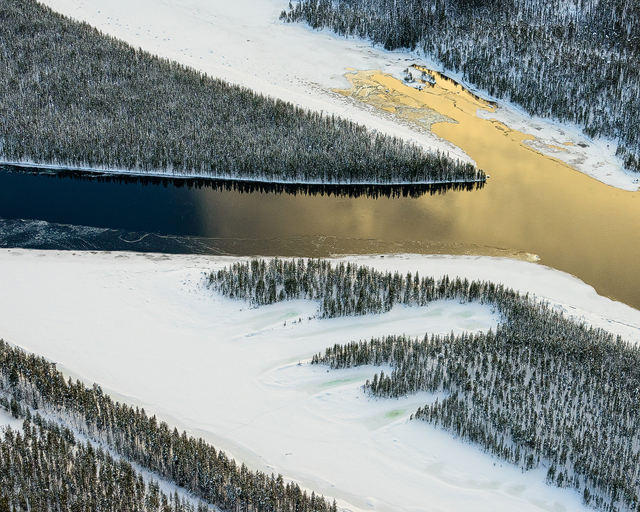 Stora Luleälv, Ligga