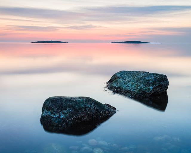 Vallda Sandö Naturreservat, Halland.
