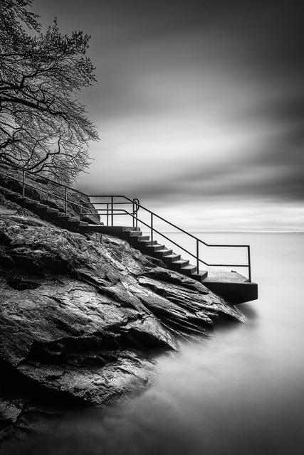 Stocklycke hamn, Vättern. Foto: Mikael Svensson