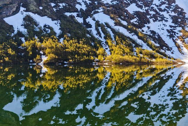 Bøvertunvatnet, Oppland, Norge