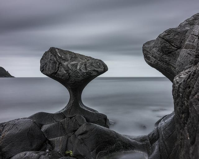 Kannesteinen, Vågsøy, Sogn og Fjordane, Norge. Foto: Mikael Svensson