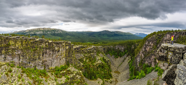 Jutulhugget, Hedmark fylke, Norway.