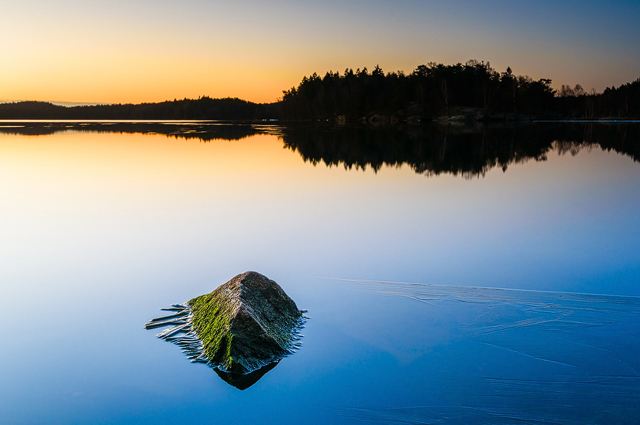 Stora Delsjön, Göteborg. Foto: Mikael Svensson