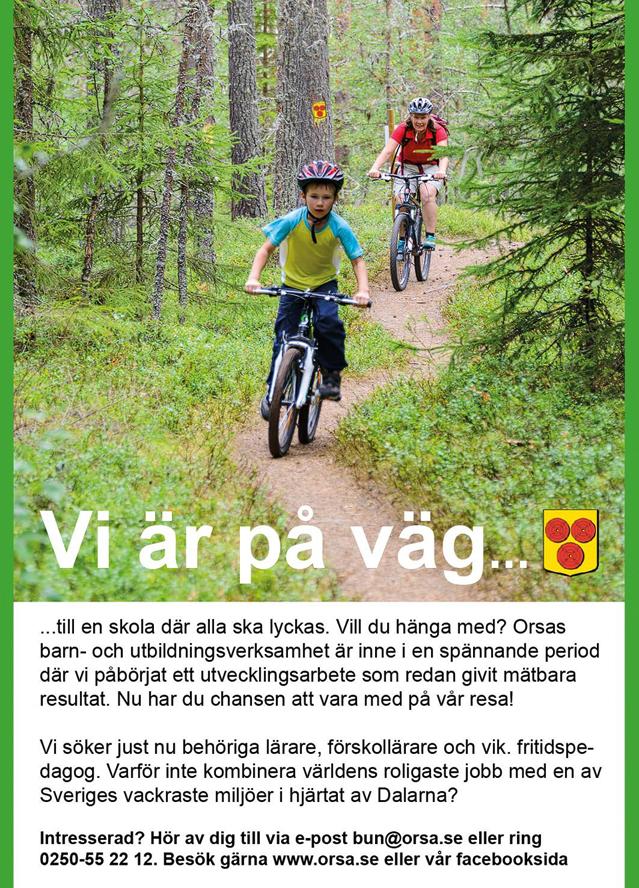 Vi är på väg... Foto: Mikael Svensson