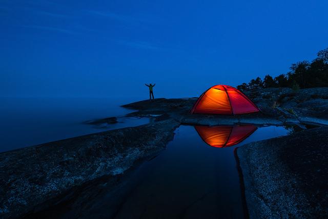 Yttre Bodane Naturreservat, Vänern. Foto: Mikael Svensson