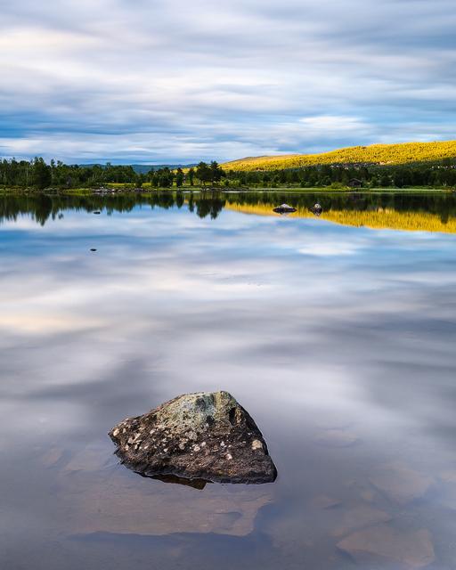 Veslefjorden, Buskerud, Norge. Foto: Mikael Svensson