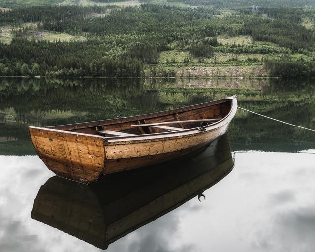 Hovsfjorden, Buskerud, Norge. Foto: Mikael Svensson