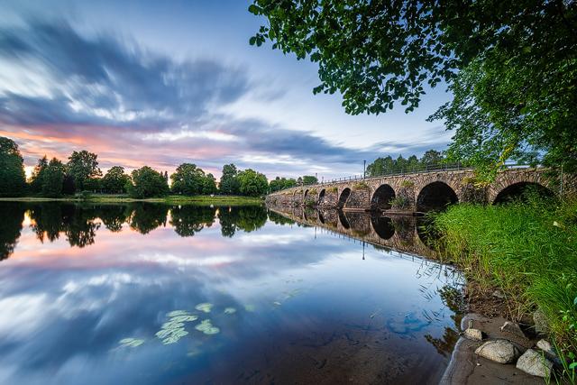 Östra bron, Karlstad. Foto: Mikael Svensson