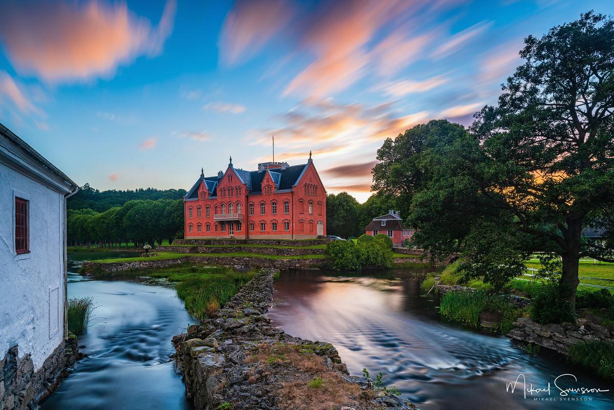 Gåsevadholms slott, Kungsbacka kommun.