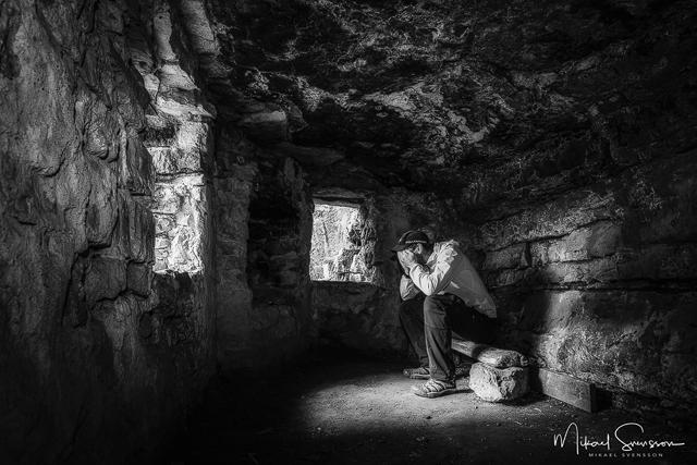 Lasses grotta, Kinnekulle