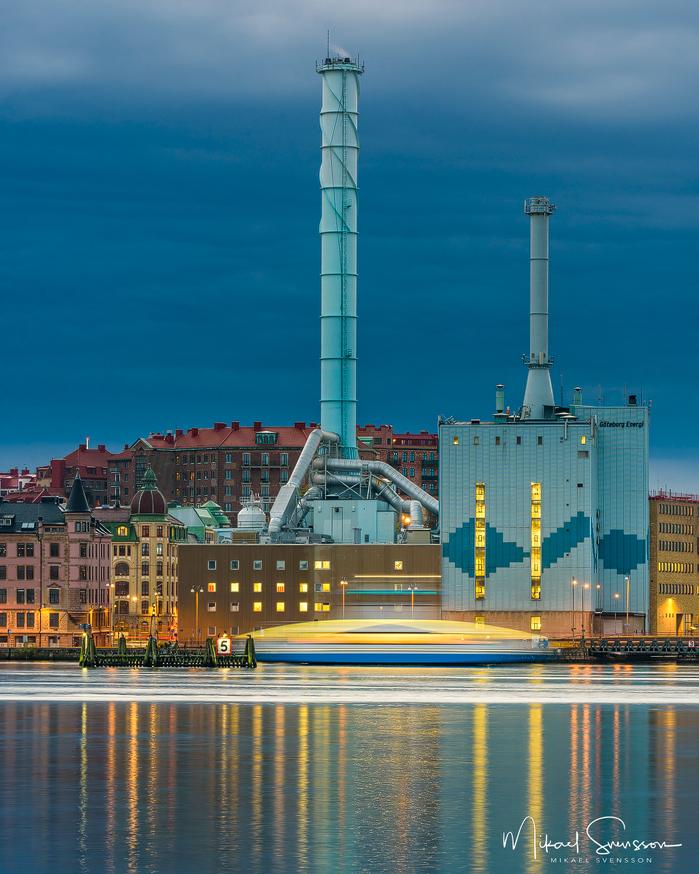 Energiverket, Göteborg. Foto: www.mikaelsvensson.com