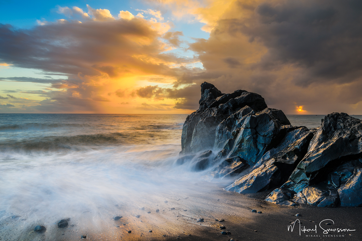 Praia Formosa, Madeira. Foto: Mikael Svensson
