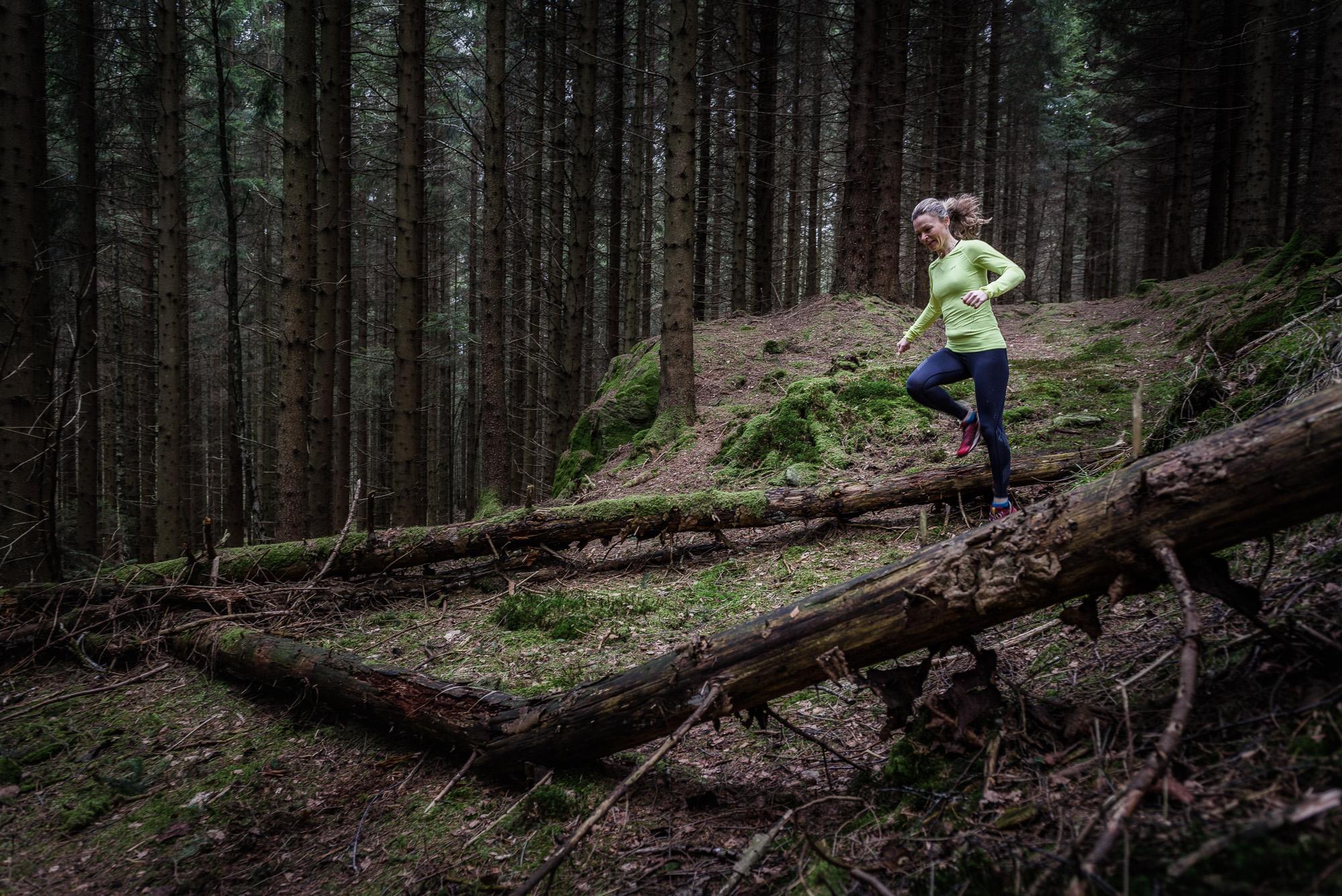 Traillöpning i Delsjöområdet. Foto: Mikael Svensson, www.mikaelsvensson.com