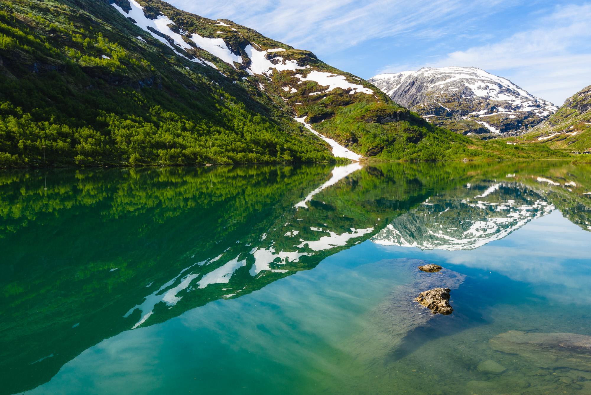 Bøvertunvatnet, Jotunheimen, Norge