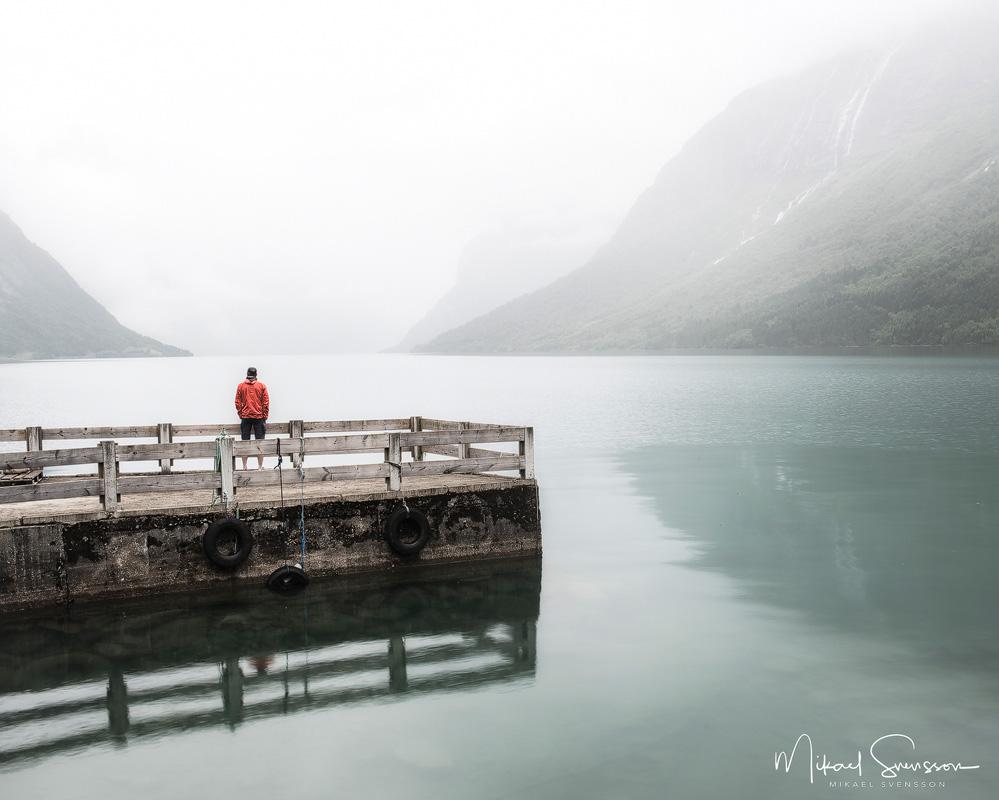 Lovatnet, Nordfjord, Norge