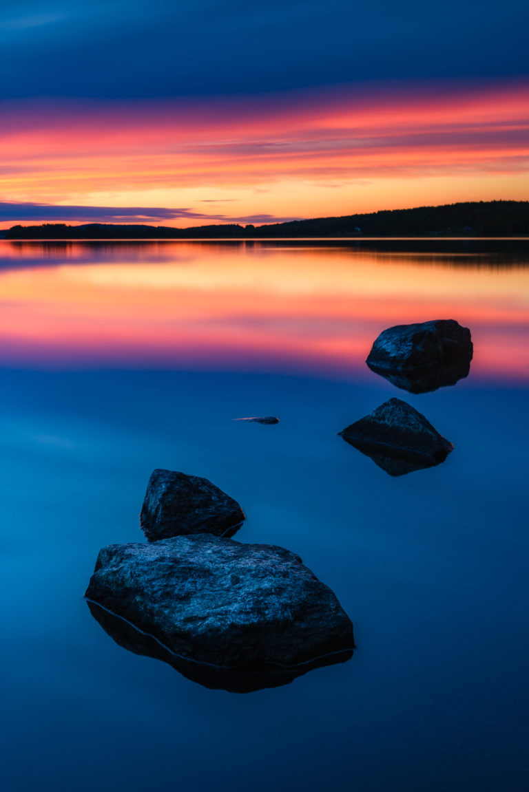 Bysjön, Åmotsfors. Foto: Mikael Svensson, www.mikaelsvensson.com