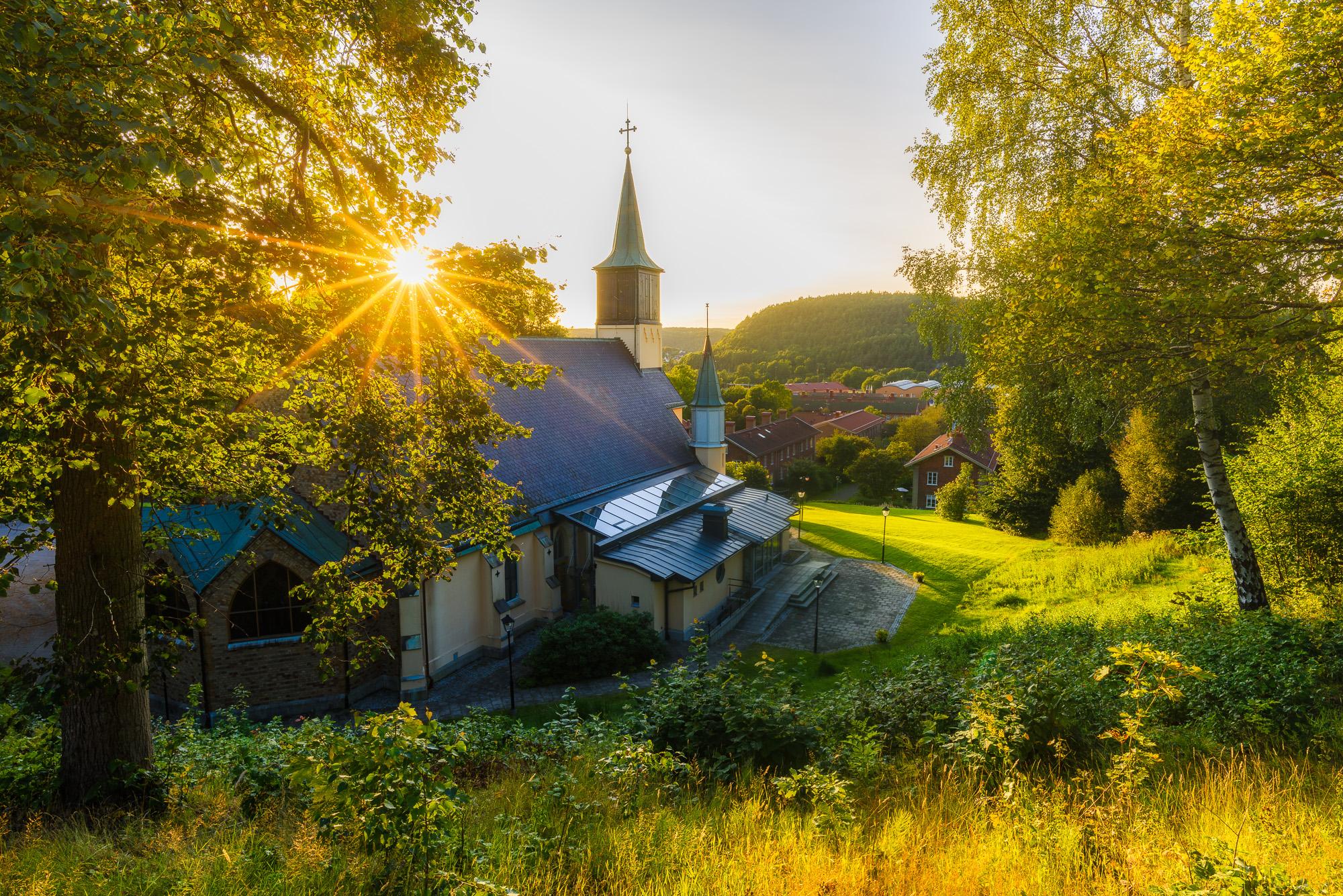 Jonsereds kyrka, Partille kommun. Foto: Mikael Svensson, www.mikaelsvensson.com