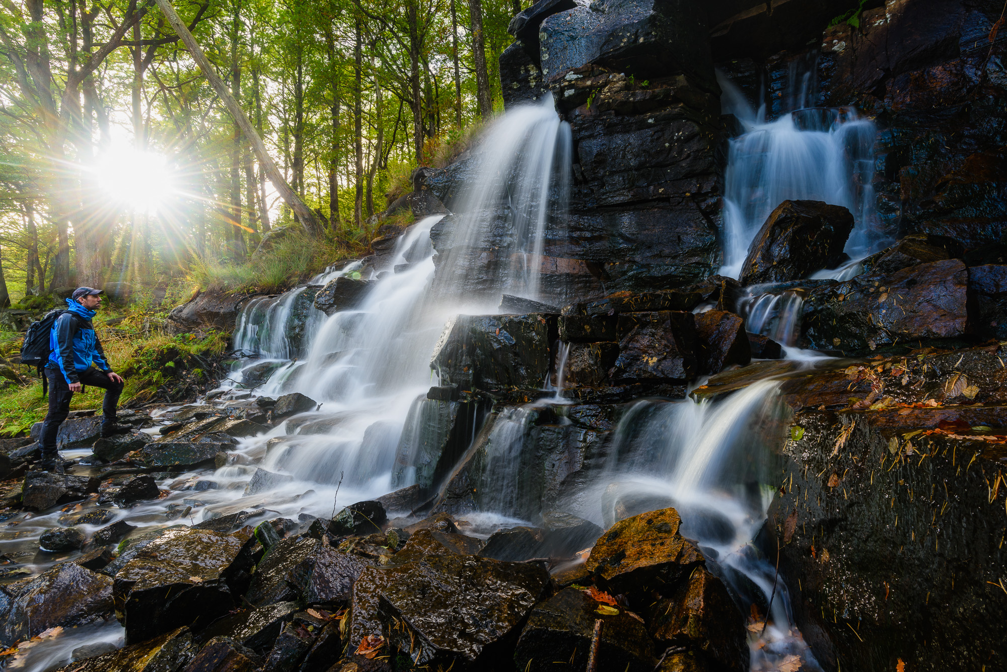 Ramhultafallet Naturreservat, Marks kommun