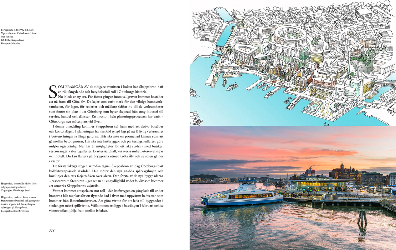 Skeppsbron i Göteborgs hjärta