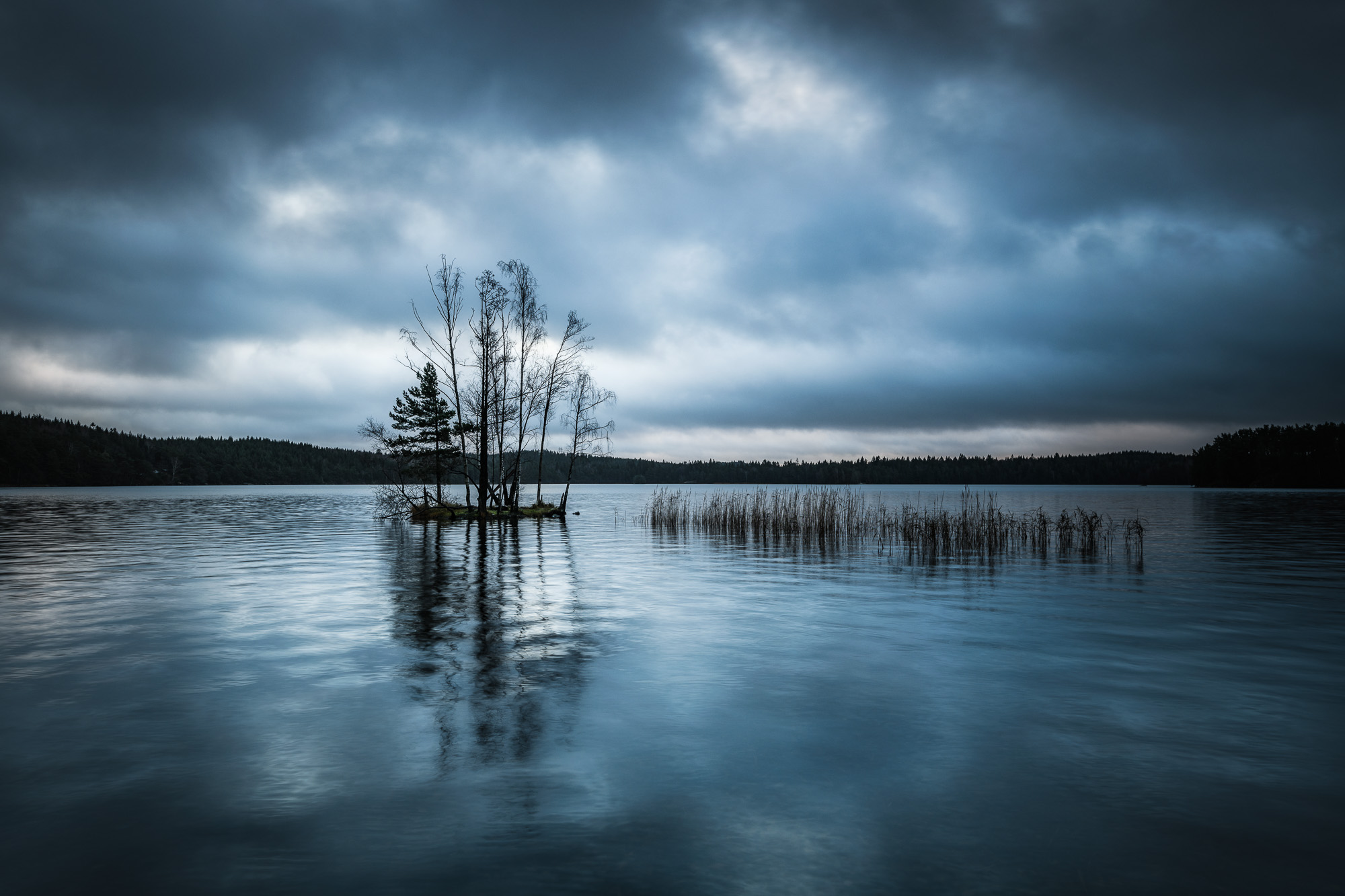 Finnsjön, Härryda kommun. Foto: Mikael Svensson, www.mikaelsvensson.com